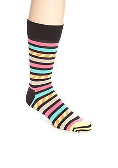 Happy Socks Men's Stars & Stripes Crew Socks - Single Pair