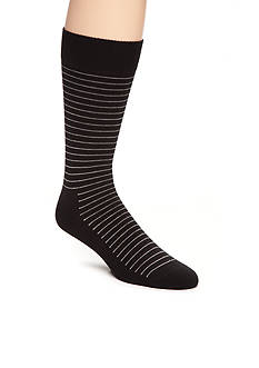 Happy Socks Big & Tall Thin Stripe Crew Socks - Single Pair
