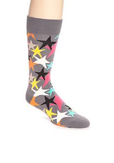 Happy Socks Men's Stars Crew Socks - Single Pair