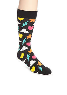 Happy Socks Men's Storm Crew Socks - Single Pack