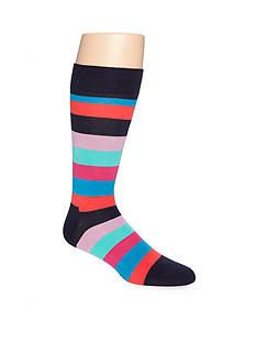Happy Socks Men's Stripe Crew Socks - Single Pair