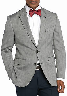 Dockers Battery Street Slim-Fit Gray Herringbone Wool-Blend Sport Coat