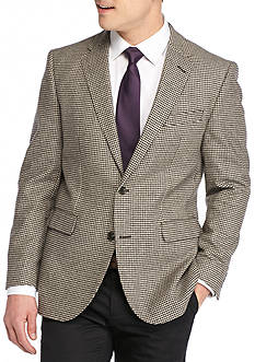 Dockers Brown Houndstooth Sport Coat