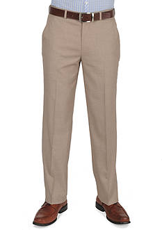 Dockers Essentials Straight Fit Flat Front Dress Pants