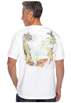 Saddlebred® Relax Maui Screen Tee
