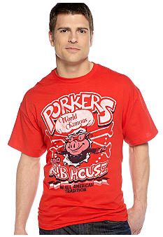 Saddlebred Porkers Rib House Screen Tee