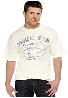 Saddlebred Blue Fin Lounge Screen Tee