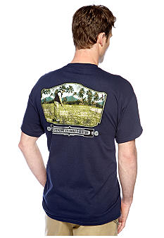 Saddlebred Paradise Palm Screen Tee