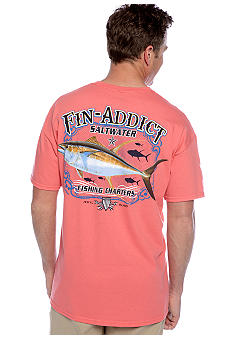 Saddlebred Fin Addict Screen Tee