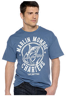 Saddlebred Blue Marlin Screen Tee