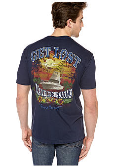 Saddlebred Get Lost Island Screen Tee