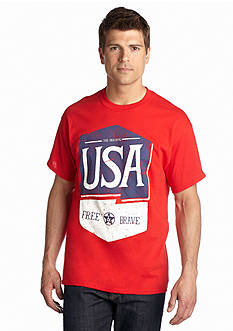 Saddlebred Red USA Tee