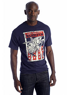 Saddlebred® Red, White & Bluefin Graphic Tee