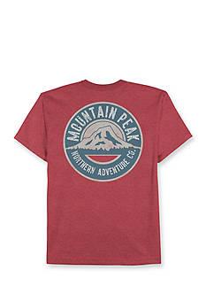 Saddlebred Big & Tall Mountain Peak Graphic Tee