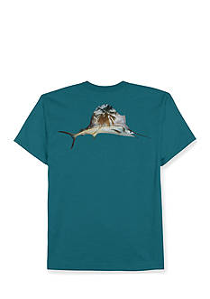 Saddlebred Big & Tall Sailfish Short Sleeve Graphic Tee