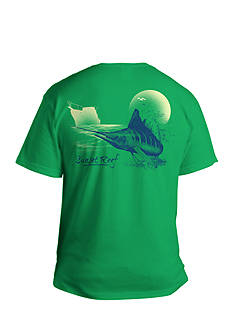Saddlebred Big & Tall Sunset Reef Graphic Tee