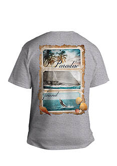 Saddlebred Big & Tall Paradise Found Graphic Tee