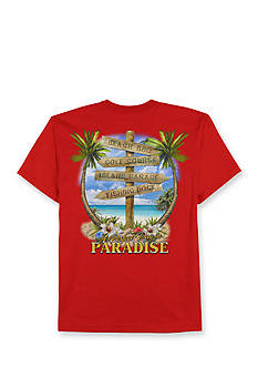 Saddlebred Big & Tall Perfect Paradise Short Sleeve Graphic Tee