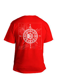 Saddlebred Big & Tall Compass Directional Graphic Tee