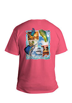 Saddlebred Big & Tall Take It Easy Short Sleeve Graphic Tee