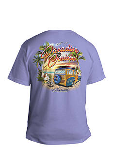 Saddlebred Big & Tall Paradise Cruisin' Short Sleeve Graphic Tee