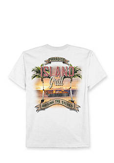 Saddlebred Big & Tall Island Grill Graphic Tee