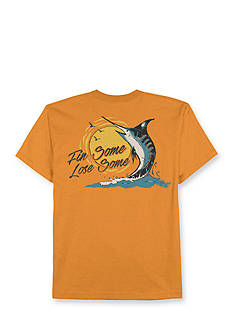Saddlebred Big & Tall Fin Some Lose Some Graphic Tee