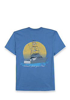 Saddlebred Big & Tall Whatever Floats Your Boat Graphic Tee