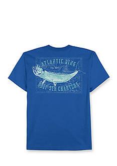 Saddlebred Big & Tall Deep Sea Charters Graphic Tee