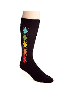 Madison Multicolor Argyle Socks - Single Pair