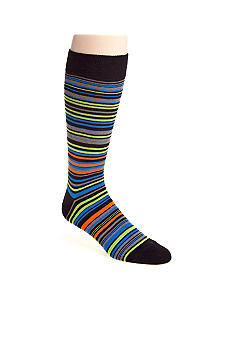 Madison Multicolor Stripe Socks - Single Pair