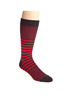 Madison Thick and Thin Stripe Socks - Single Pair