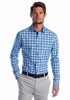MADE Cam Newton French Front Gingham Shirt