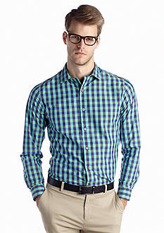 MADE Cam Newton Non-Iron Gingham Woven Shirt