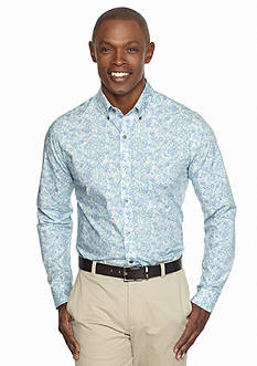 MADE Cam Newton Long Sleeve Liberty Floral Shirt