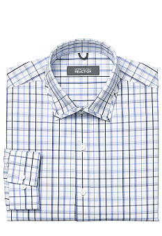 Kenneth Cole Wrinkle Free Check Dress Shirt