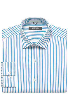 Kenneth Cole Reaction Wrinkle Free Striped Dress Shirt