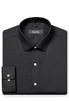 Kenneth Cole Reaction Wrinkle Free Textured Solid Dress Shirt