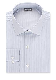 Kenneth Cole Reaction Slim Fit Technicole Flex Collar Dress Shirt
