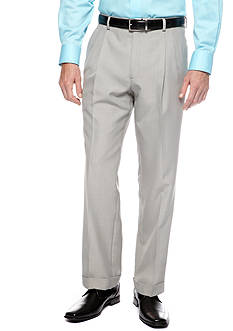 Saddlebred Classic Fit Sage Gray Stria Suit Separate Pants