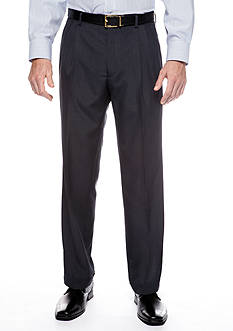 Saddlebred Classic Fit Navy Stria Suit Separate Pants