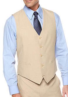 Saddlebred Classic Fit Tan Stria Suit Separate Vest