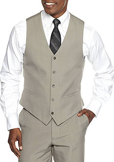Saddlebred Classic-Fit Look Suit Separate Vest