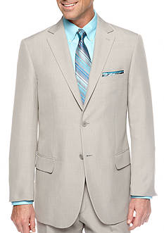 Saddlebred Classic Fit Sage Gray Stria Suit Separate Coat