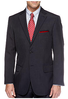 Saddlebred Navy Stria Suit Separate Coat