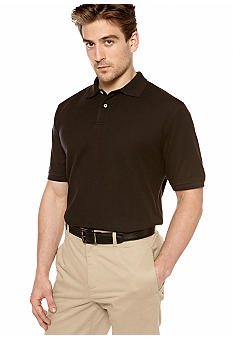 Saddlebred Big & Tall Solid Pique Polo
