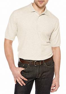 Saddlebred Solid Pique Polo Shirt