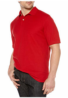 Saddlebred Solid Pique Polo Shirt