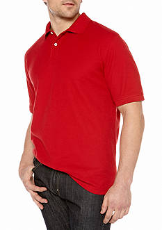 Saddlebred® Solid Pique Polo Shirt