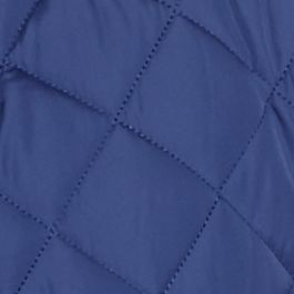 Mens Puffer Jacket: Blue Eve MADE Cam Newton Quilted Vest
